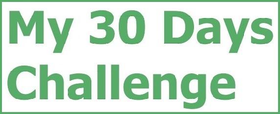 30天尝试新挑战